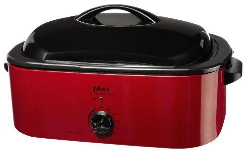 Oster CKSTROSMK18 Smoker Roaster Oven, 16Quart Small