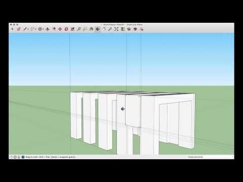 Sketchup Make Tutorial A Simple Booth Design Booth Design Make Tutorial Design