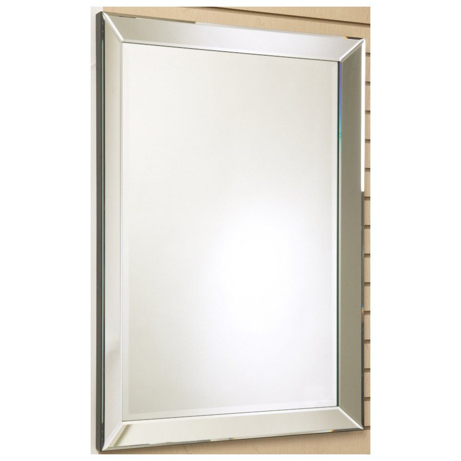 shop unbranded 30 in x 40 in the royal rectangular framed mirror on mirror - Mirror Framed Mirror