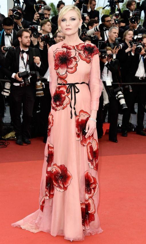 Kirsten Dunst por Gucci - Cannes 2016 (ceremonia de apertura).