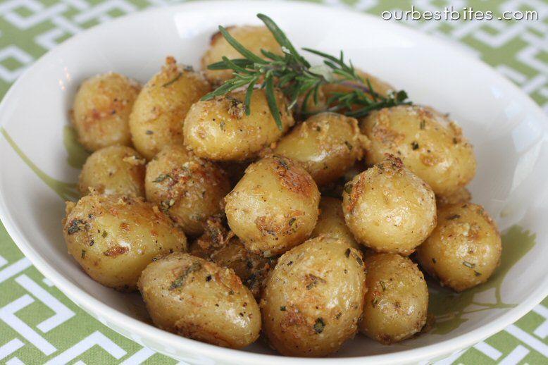 Garlic Rosemary Roasted Baby Potatoes Baby Potatoes Baby Potato Recipes Roasted Baby Potatoes