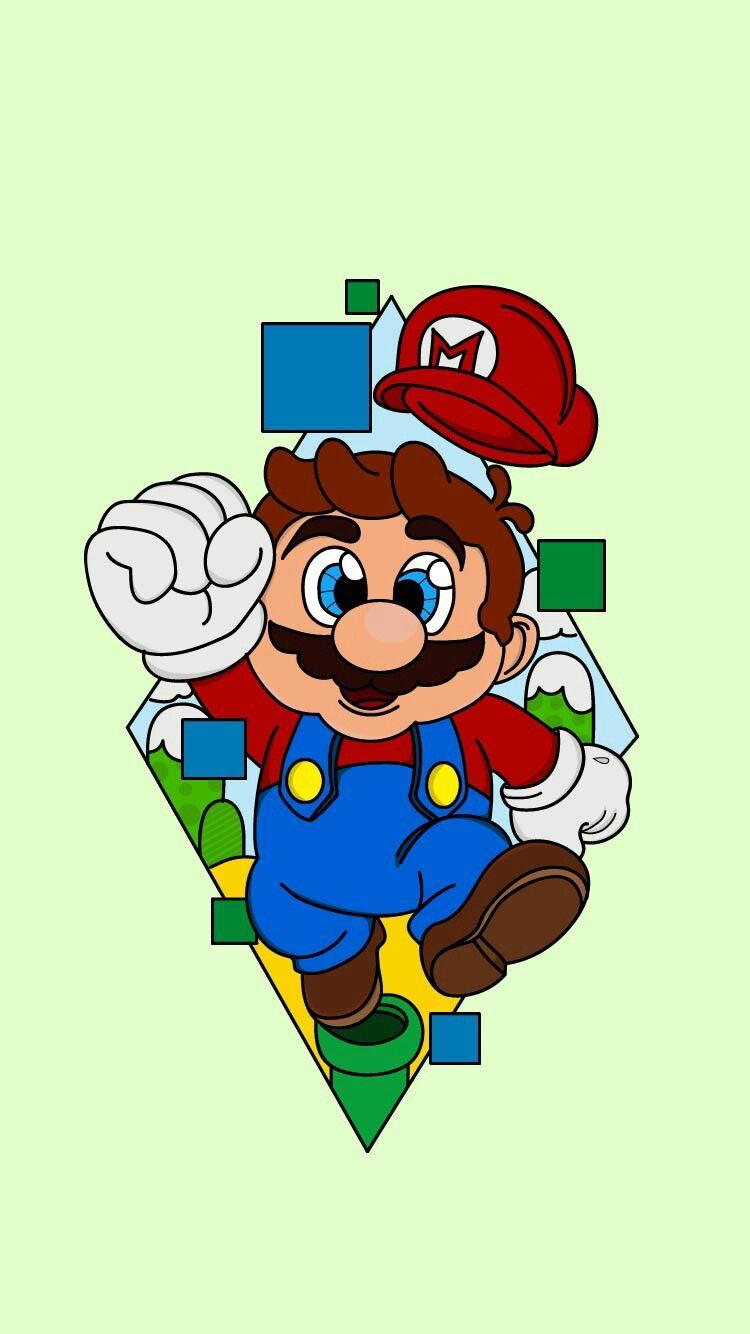 Pin De Ugiie Bhelell Em Bhelell Desenhos Desenhos Do Mario Personagens De Games