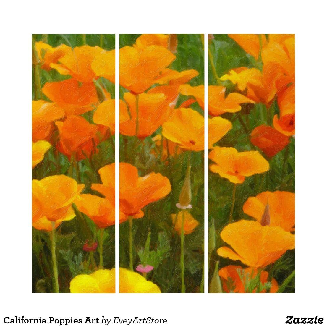 California Poppies Art