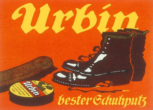 Urbin Shoe Polish, 1905 by Hans Lindenstaedt