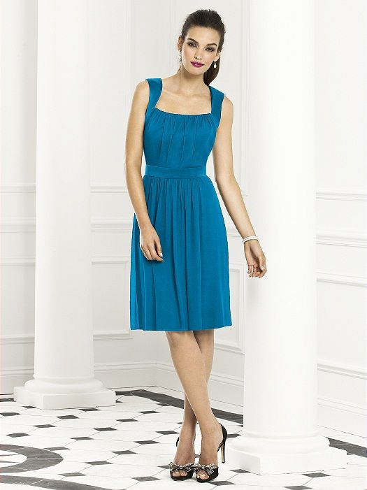 Cerulean Blue Bridesmaid Dress