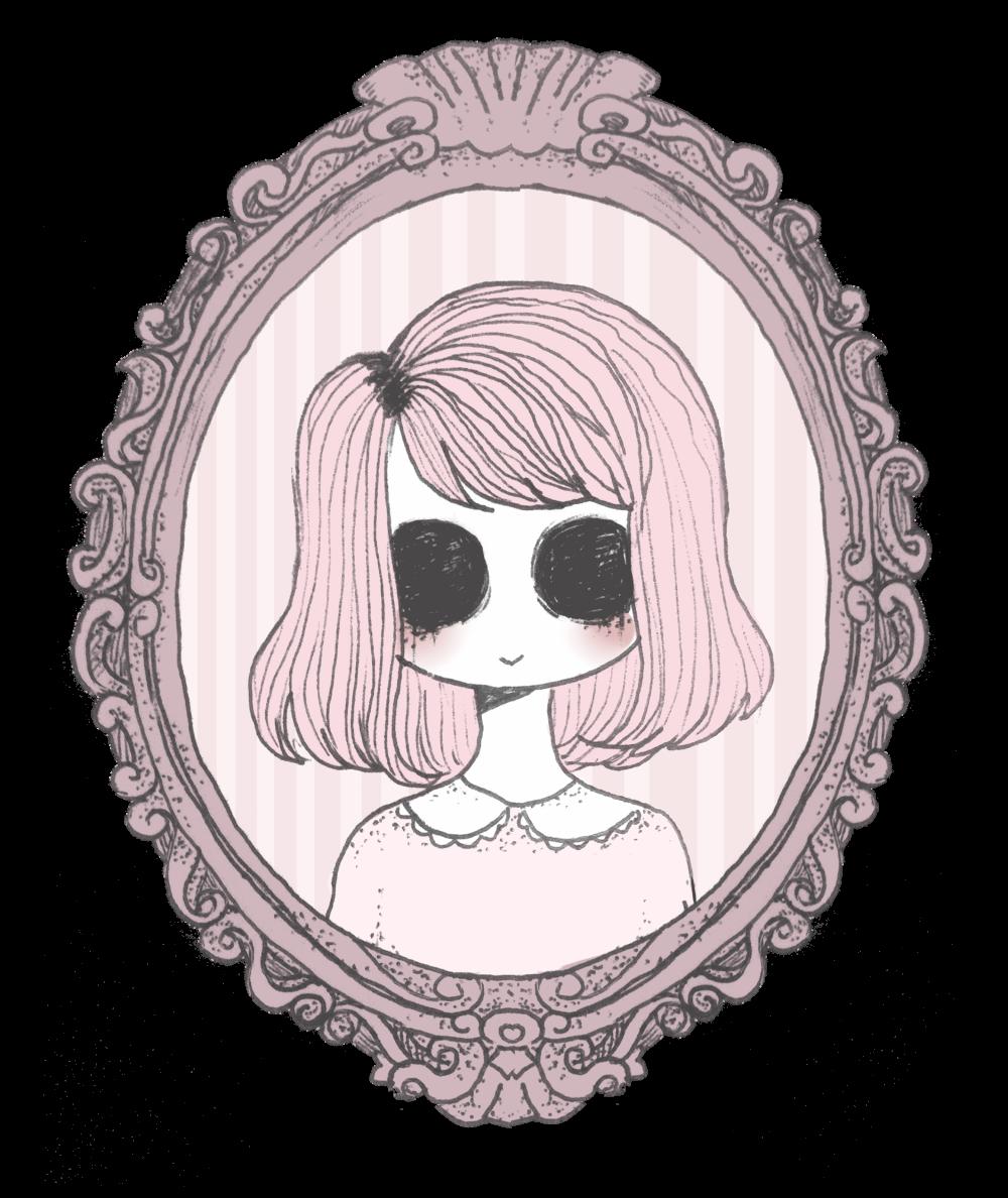 Inktober Day 9 Creepy Drawings Pastel Goth Art Creepy Art