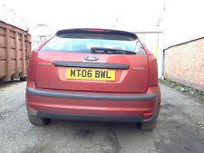 Ford Focus Zetec Duratec Rear Bumper Paint Code A3 Reddish Car