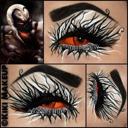 Kikimakeup #halloween #spooky #redeye #makeup - bellashoot.com