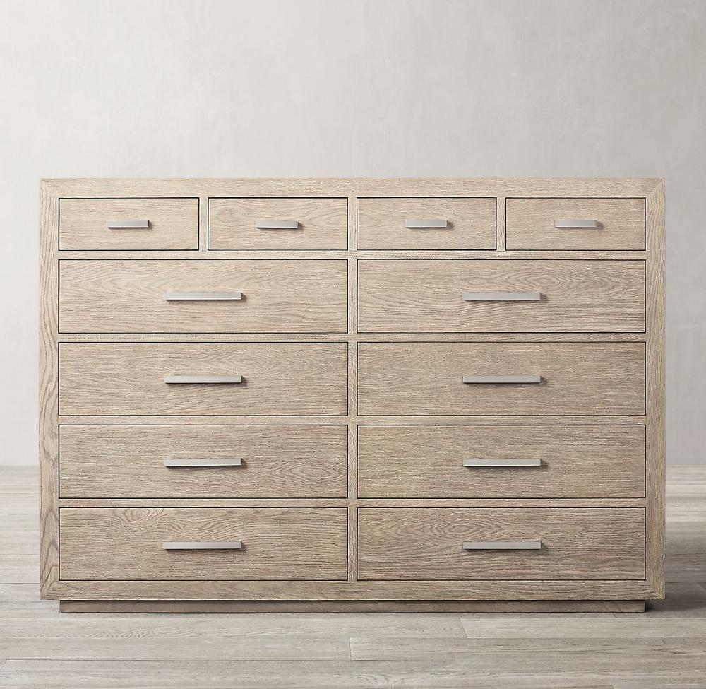Kempton 12 Drawer Dresser 12 Drawer Dresser Painted Bedroom Furniture Dresser Drawers [ 975 x 1000 Pixel ]