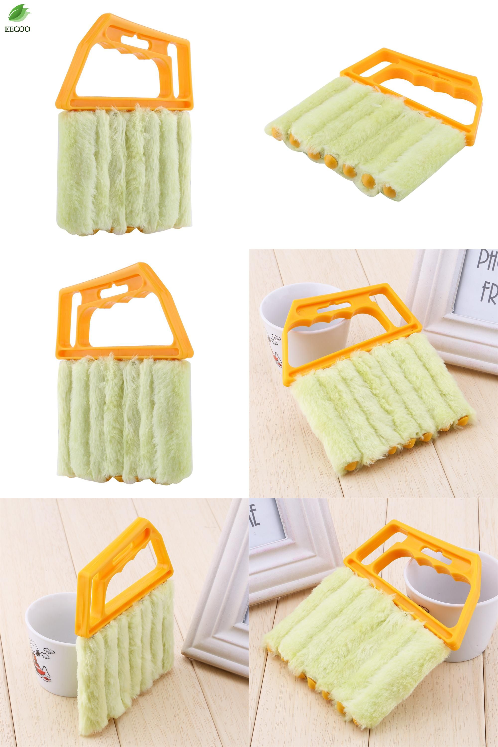 [Visit to Buy] Useful Microfiber Window Cleaning Brush Air