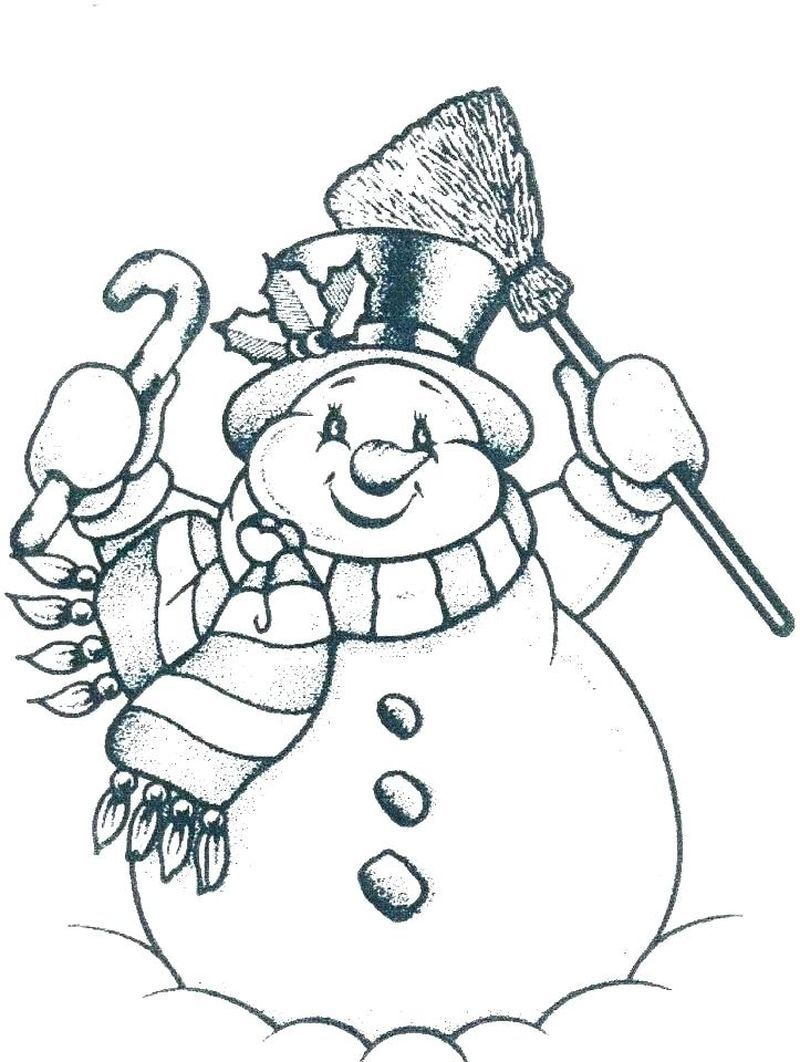 Frosty The Snowman Coloring Pages Momjunction in 2020