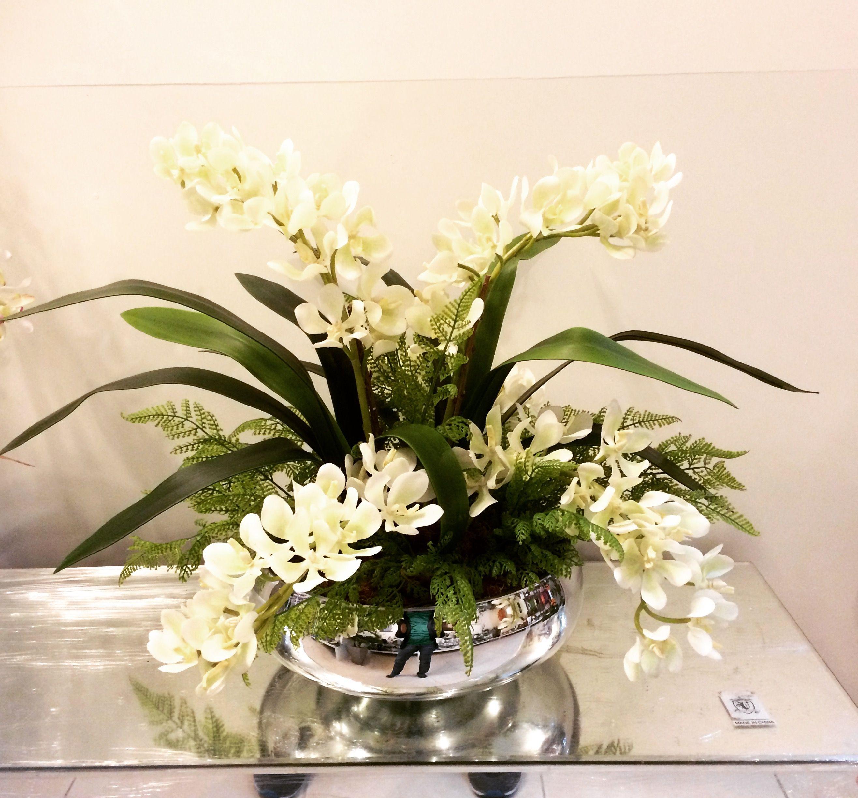 Art Lilac Arranjos Florais Flores Artificiais Orquideas