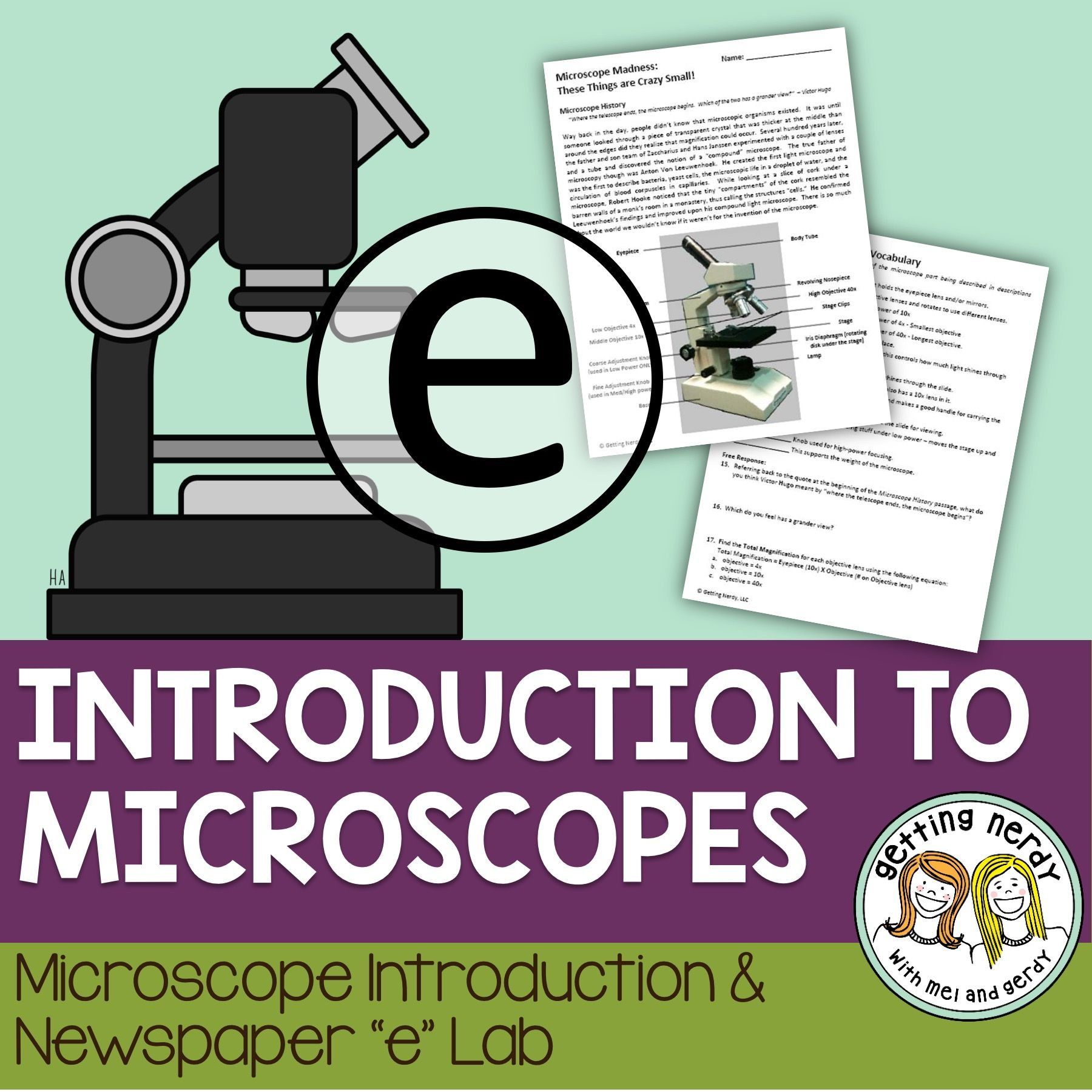 worksheet A View Of The Cell Worksheet Answers microscope lab free how do you view specimens under a life science