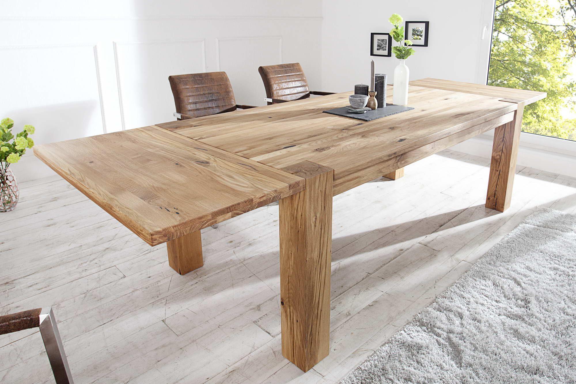 1b9943d7e0b5 Jedálenské stoly   Jedálenský stôl z masívu Nature 160-240cm DUB ...