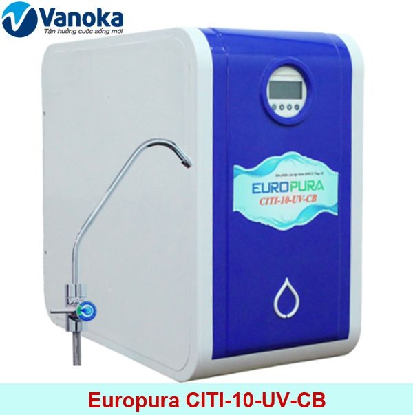 Máy lọc nước Europura CITI-10-UV-CB