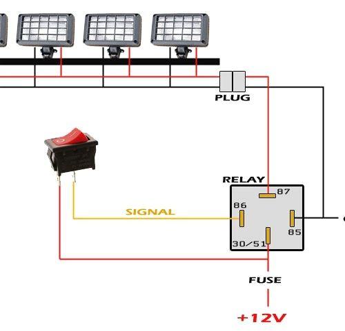 polaris rzr light bar wiring diagram  gm starter wiring for
