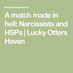 hsp dating a narcissist