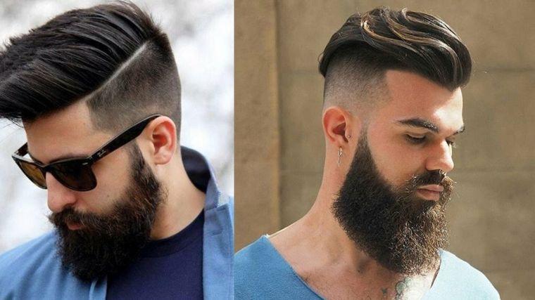 Cortes de pelo hombre, tendencias modernas del 2017 Peinado para