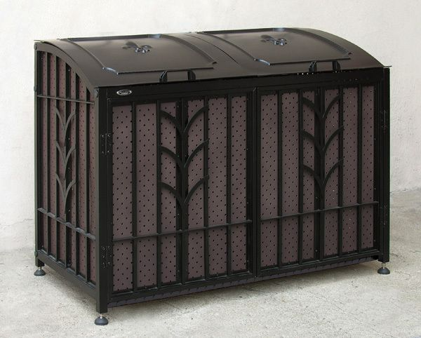 Metrobox Metal Art Outdoor Storage Box Outdoor Decor