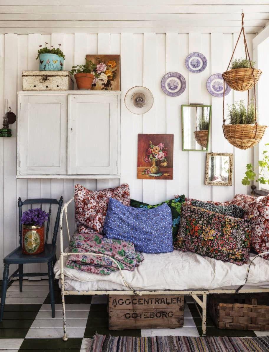 Ambiance boh me au jardin d 39 hiver interior boho haus Innenarchitekt wohnungseinrichtung