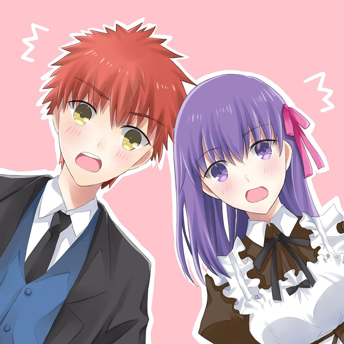 Shirou Emiya / Sakura Matou【Fate/Stay Night】 | Fate | Pinterest ...