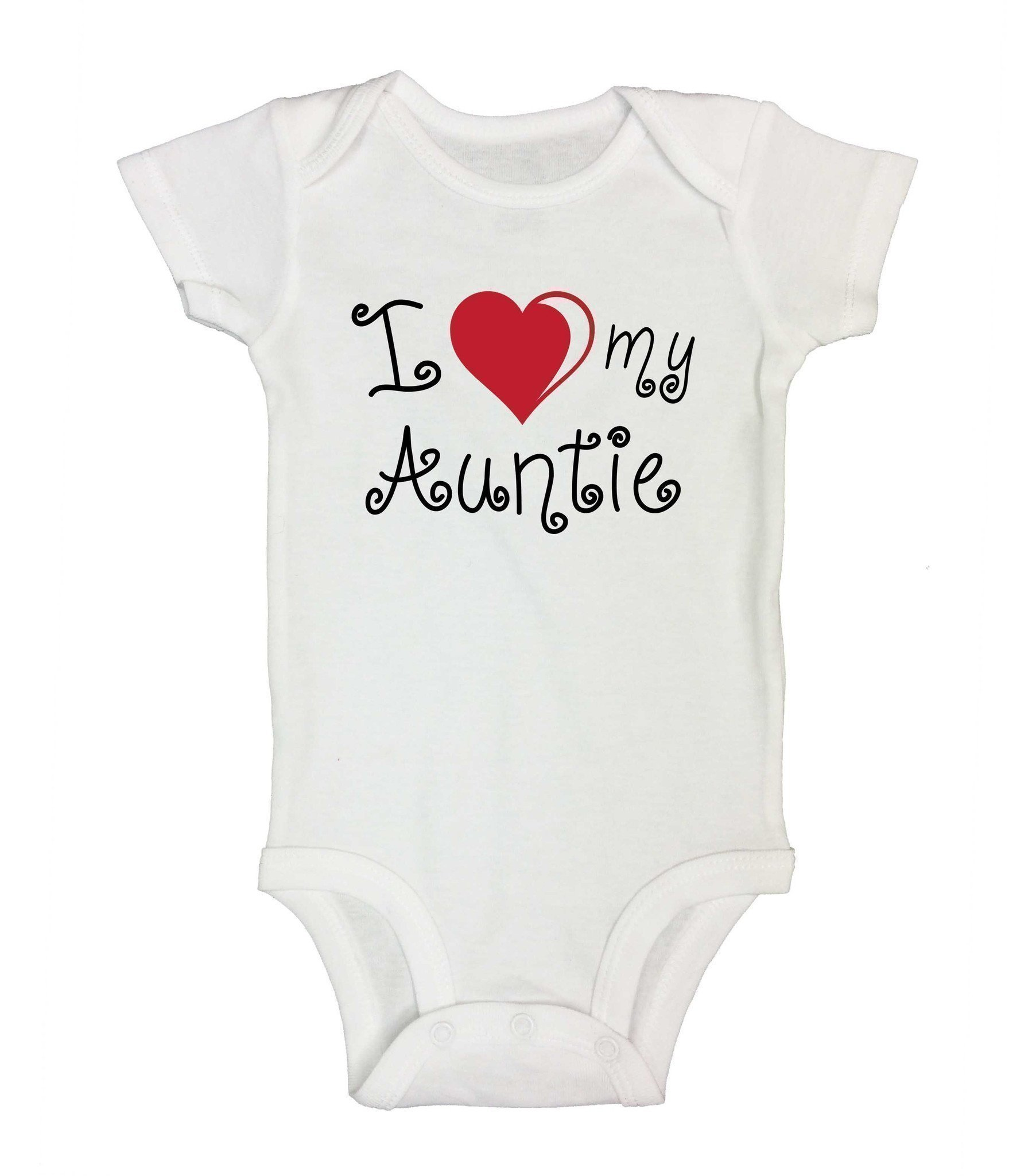 30c103479 I Love My Auntie Funny Kids Onesie | Products | Onesies, Funny kids ...