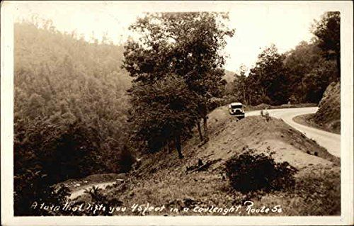 A turn that lifts you 45 feet in a carlength, Route 50 West Virginia Original Vintage Postcard CardCow Vintage Postcards http://www.amazon.com/dp/B00P9LPN98/ref=cm_sw_r_pi_dp_jEV2wb173VJ6P