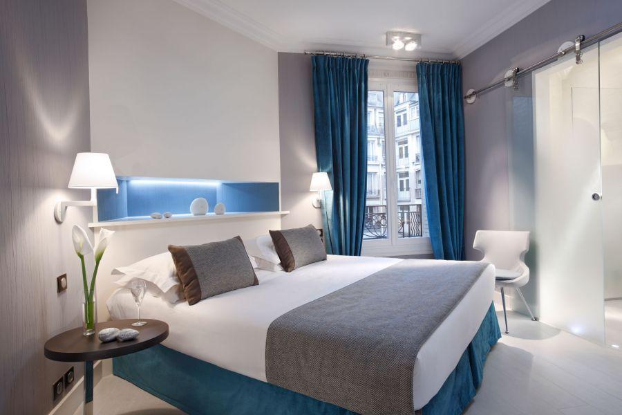 Célèbre Chambres classiques - Hôtel de Banville - Hôtel 4 étoiles Paris  ZJ46