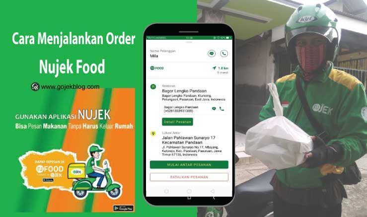 Cara Menjalankan Order Nujek Food Nufood Terbaru 2020 Aplikasi Pesan Membaca