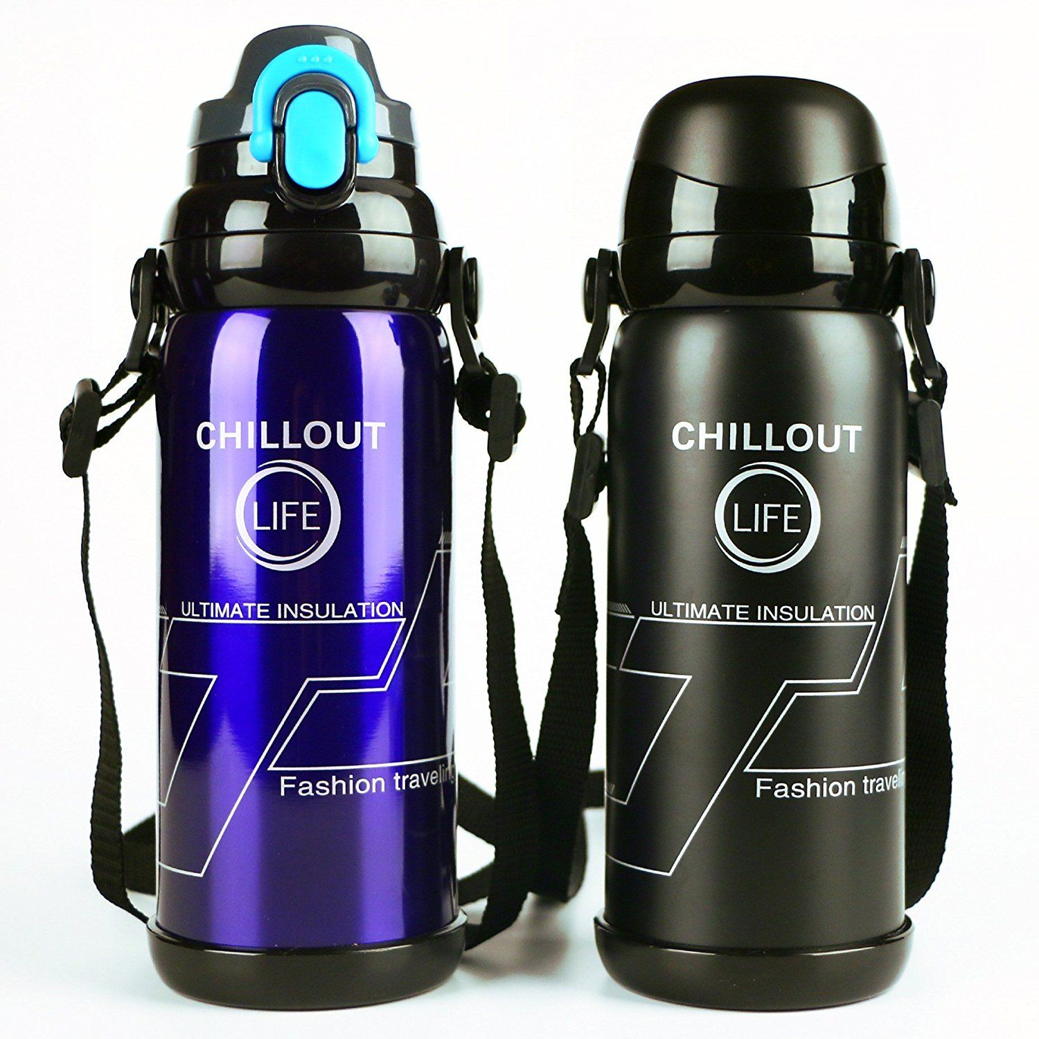 27 oz Stainless Steel Water Bottle Vacuum Flask Insulated Thermos