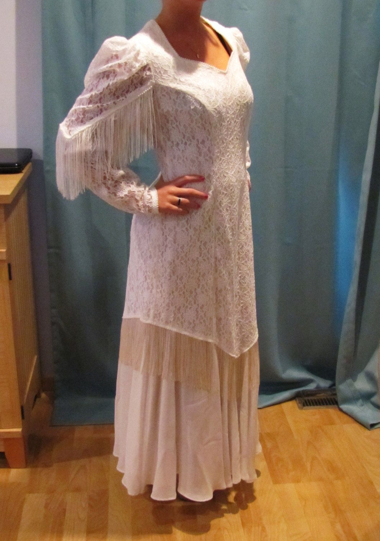 Vintage western wedding dresses Western wedding dresses