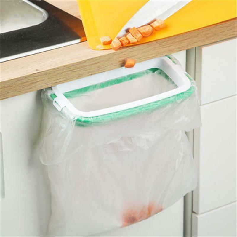 Useful Hanging Kitchen Trash Garbage Bag Home Holder Storage Rack Gadget Tools