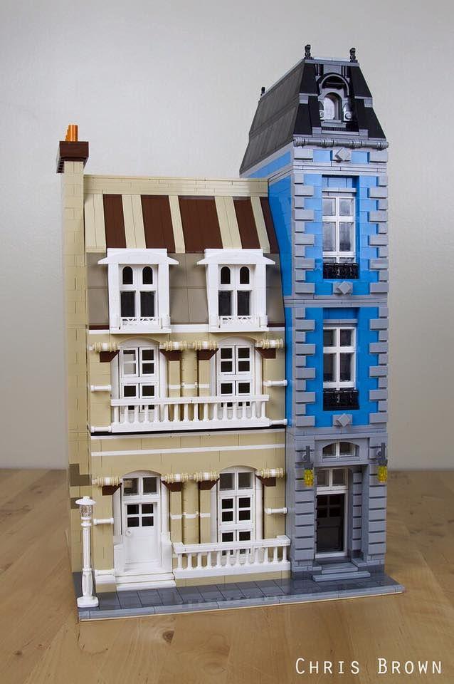 Bricksburg Inspired Modular by Chris Brown
