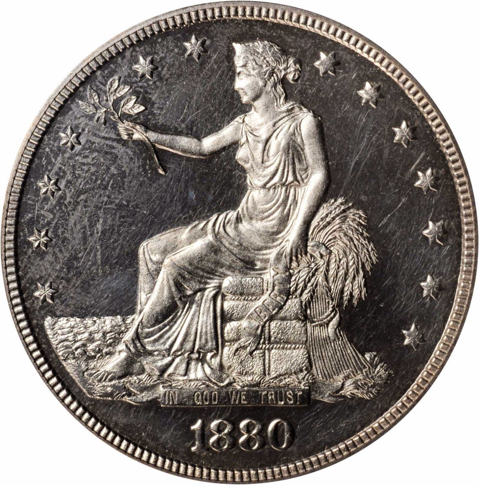 Us Coins 1880 Silver Trade Dollar American Silver Coins Valuable Coins Old Coins