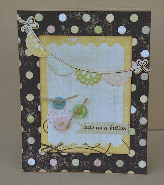 Simple Stories-Baby card