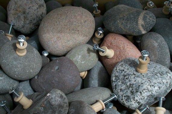 Rock Drawer Pulls From Lake Superior Drawer Pulls Lake Superior