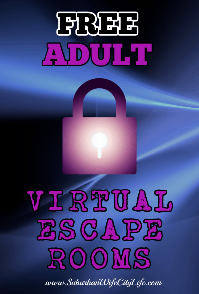 Ultimate List of FREE Virtual Escape Rooms Suburban Wife