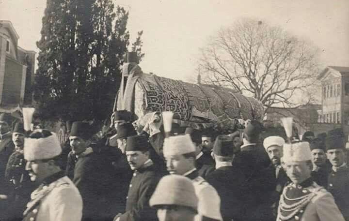 Muhterem Sultanımızın Cenaze Töreni