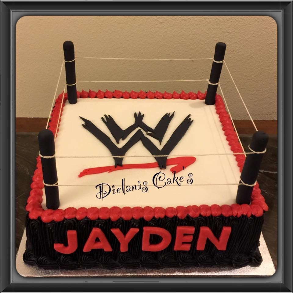 Wwf Cake Birthday Party Ideas Pinterest Birthday Party Ideas