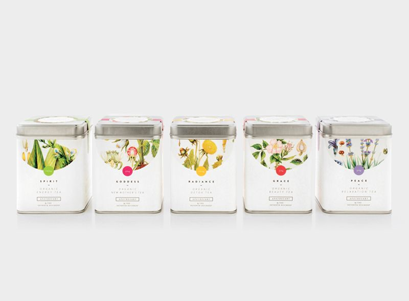 Apothecary Tea Packaging | Tea packaging and Creative package design