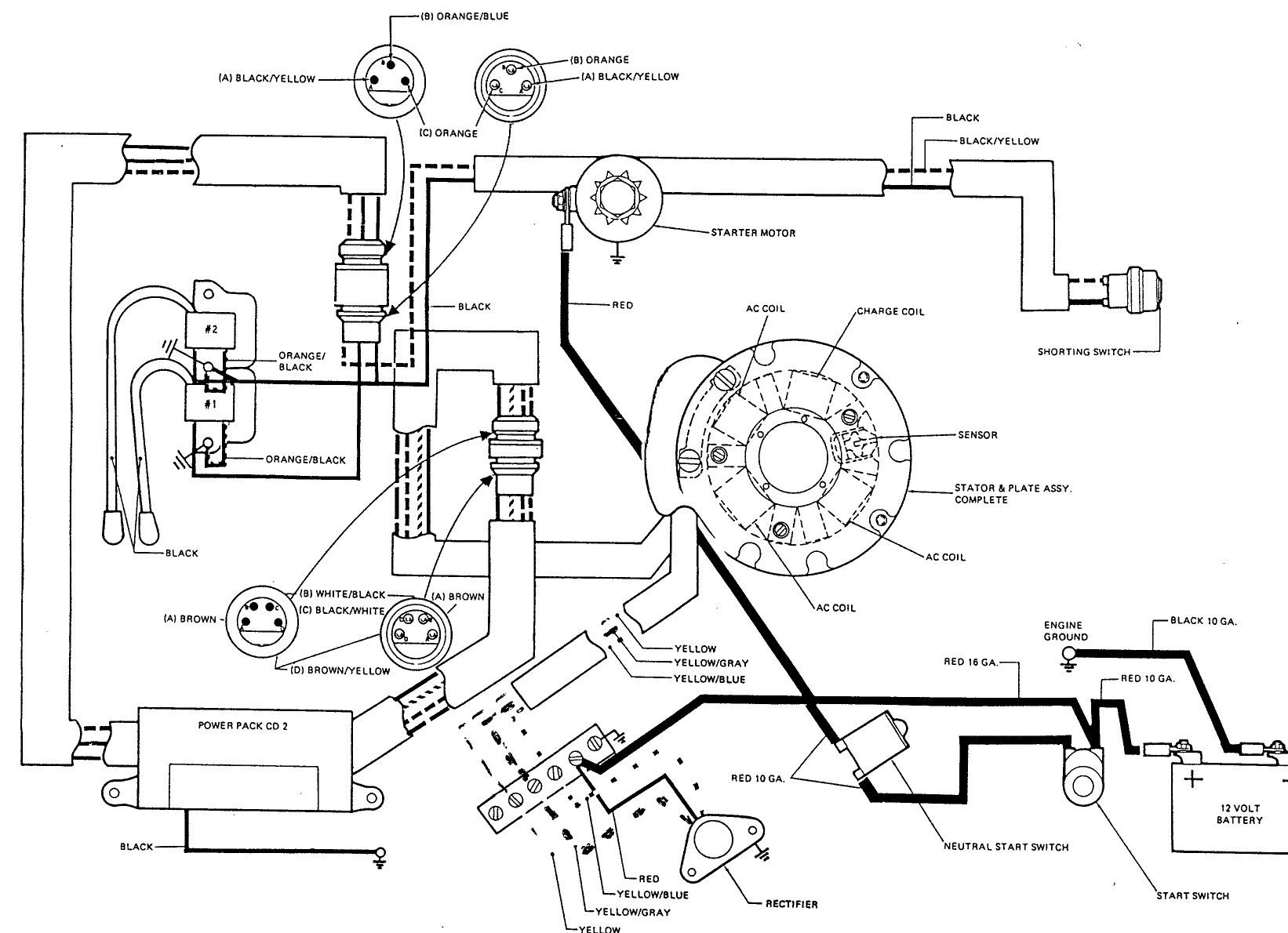 Key Switch Wire Diagram For A Mercury Outboaed With Chock In 2021 Electric Choke Mercury Outboard Electrical Diagram