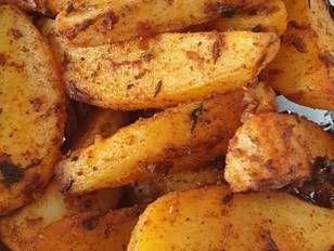Patatas asadas en el sartén 🍳