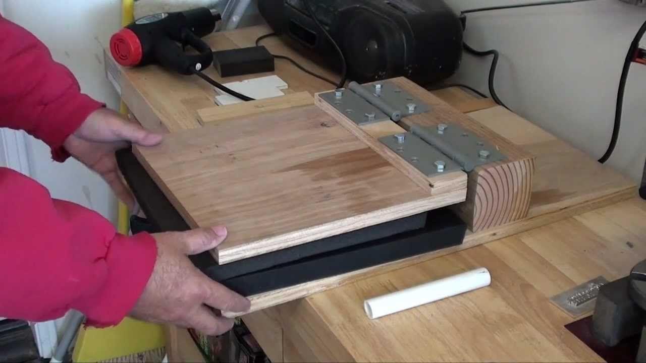 Diy kydex press holster or knife sheaths kenpoist7mp4