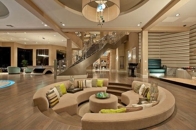 modern POP ceiling decor in living room with unique designs and ...