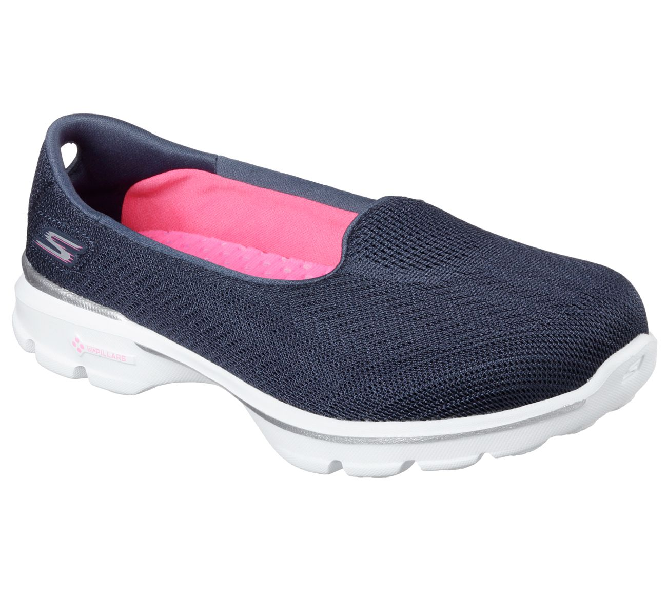 Skechers Go Walk 3 Skechers- Pink casual shoes