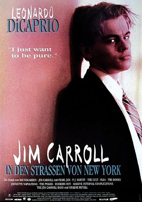 Filmplakat Jim Carroll In Den Strassen Von New York 1995 Filmplakate Filme Schriftsteller Werden