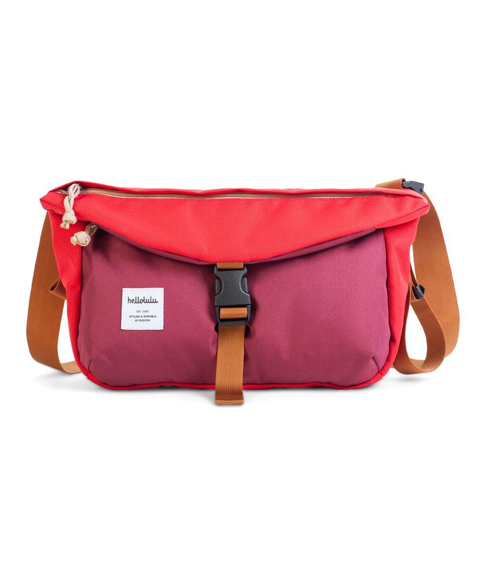 00483065fe Burgundy   Red Duff Messenger Bag