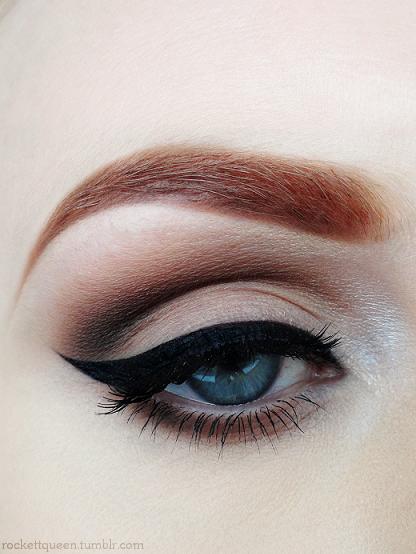 Pin Up Makeup I Wish I Had Deep Eyelids I Could Do So