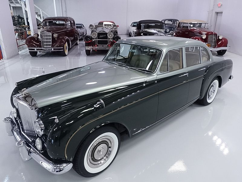 1961 BENTLEY S2 CONTINENTAL FLYING SPUR BY H. J. MULLINER — Daniel Schmitt & Company