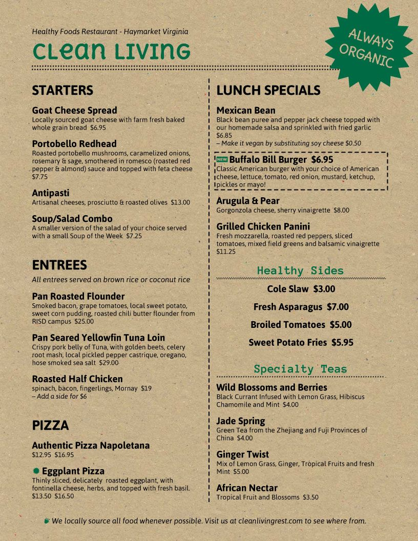 Imenupro  Menu Design Samples From Imenupro Menu Software  More